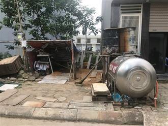 Giữa Hà Nội, khu dân cư không điện, không nước nhiều năm