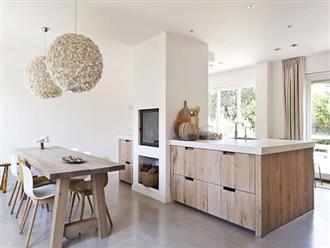 6 phòng bếp chứng minh cho bạn thấy nội thất gỗ mộc chính là đũa thần cho nơi nấu nướng