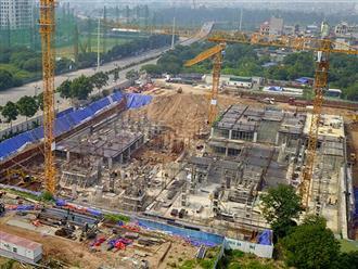 Hà Nội: Công trình bệnh viện An Sinh rầm rộ thi công khi chưa có giấy phép