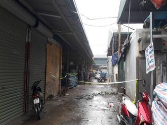 Hà Nội: Cướp táo tợn vào chợ Long Biên nổ súng