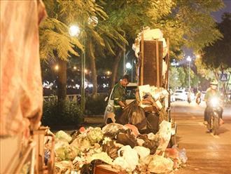 Hà Nội: Dân chặn xe vào bãi rác Nam Sơn, nội thành ngổn ngang rác thải