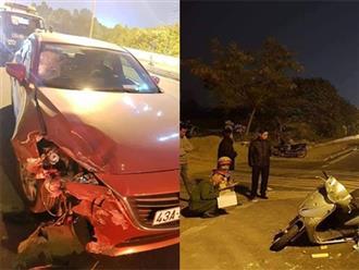 Hà Nội: Nữ giáo viên trường chuyên bị tài xế nghi say rượu lái xe 'như bay' tông tử vong