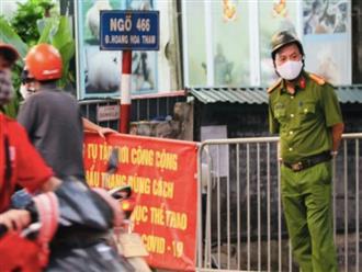 Hà Nội: Thêm 1 ca nghi nhiễm COVID-19, ở quận Tây Hồ