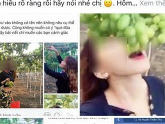 Hai cô gái phượt thủ từng đi Sài Gòn - Hà Nội trong vòng 40 tiếng lại gây tranh cãi khi tố chủ vườn nho chặt chém?