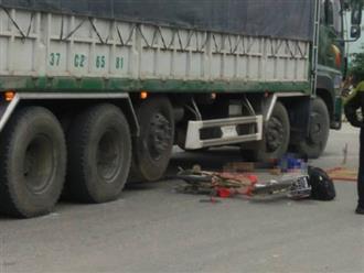 Đau lòng cảnh 2 học sinh bị xe tải đâm thương vong trên đường đến trường