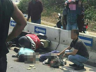 Hai phụ nữ nguy kịch sau va chạm với xe bồn: Hiện trường tai nạn gây ám ảnh