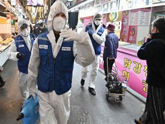 Hàn Quốc thêm 60 ca nhiễm Covid-19, số ca nhiễm bệnh tại Trung Quốc lên đến 77.658 người