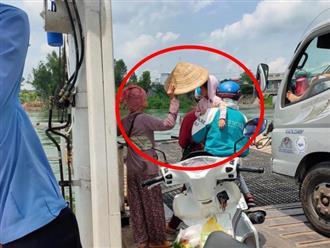 Hành động của cô bán vé số giữa trưa nóng gây xúc động: Người Việt Nam có thể nghèo tiền, nghèo bạc nhưng tình người luôn đong đầy
