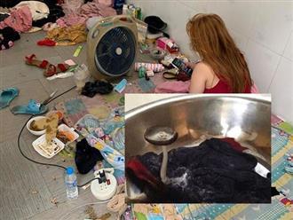 Sốc nặng với căn phòng của hot girl xinh đẹp: Khắp nơi toàn rác, quần áo mọc cả nấm