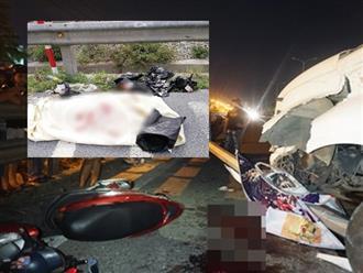 Hiện trường ám ảnh vụ container tông cả gia đình trên đường đi ăn cưới về khiến bé trai 4 tuổi tử vong