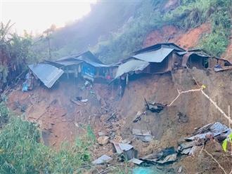 Hiện trường tan hoang của vụ sạt lở tại Quảng Nam làm 11 người mất tích