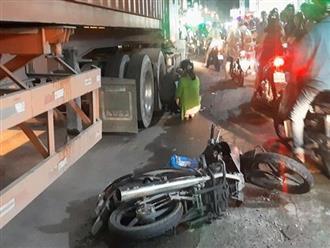 Hình ảnh đau xót: Gặp tai nạn khi được cậu chở đi học về, 2 cháu bé thương vong