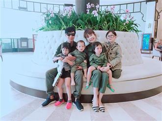 Nhìn 'đội quân' 6 người nhà Lý Hải - Minh Hà, ai chẳng muốn một gia đình đông đúc