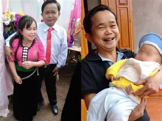 Ngỡ ngàng với hình ảnh con trai của 'cặp đôi tí hon' ở Phú Thọ từng gây bão MXH