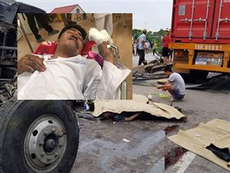 Vụ xe tải lật đè chết người: Gia cảnh đáng thương của cặp vợ chồng công nhân đi làm chưa lâu thì gặp nạn