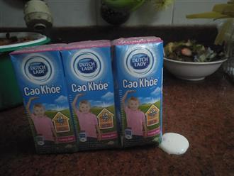 """Khách hàng """"hoảng hồn"""" phát hiện hộp sữa Cô Gái Hà Lan bị phồng to dù hạn sử dụng tháng 2/2020"""