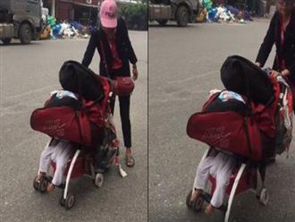 """Xuất hiện cùng con trai gần 1 tuổi, hot girl Bella lại gây bão MXH khi để đồ đè lên con, còn """"trấn an"""": Đứa trẻ không chết được đâu mà lo!"""