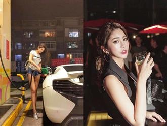 Hé lộ gia cảnh khủng của hot girl 'gây bão' khi đổ xăng cho siêu xe