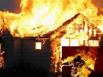 3 cha con chết thảm trong ngôi nhà bốc cháy giữa đêm khuya ở Huế: Hé lộ nguyên nhân đau lòng