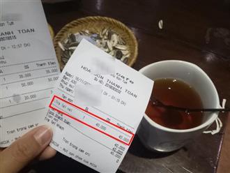 """Khách dễ tính vào quán order """"trà gì cũng được"""" nhưng lại bức xúc khi nhân viên in bill không đúng ý, cư dân mạng chẳng bênh còn mắng ngược"""
