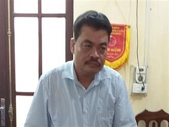 Nóng: Khởi tố, bắt Trưởng phòng khảo thí Hà Giang, người đưa chìa khóa cho ông Lương