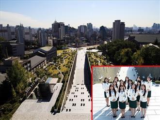 Kiến trúc độc lạ ở ngôi trường chỉ có nữ giới lớn nhất Hàn Quốc