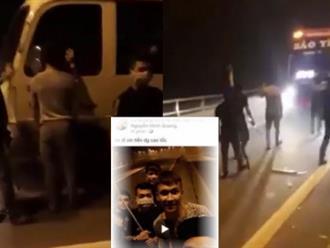 Livestream cầm vũ khí trấn lột tiền tài xế ô tô, nhóm côn đồ Phú Thọ bị phát tán ảnh và truy bắt