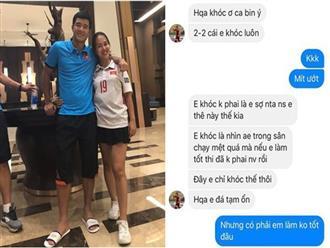 """Lộ tin nhắn Đức Chinh khóc sau trận đấu tối qua, ân hận vì """"nếu em làm tốt hơn, anh em đã không phải mệt"""""""