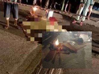 Long An: Chồng cầm dao chém chết vợ giữa cầu rồi đứng chờ công an đến bắt
