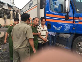 Mâu thuẫn trên bàn nhậu, tài xế container bị đâm chết khi đang nghỉ ngơi trong chợ đầu mối ở Sài Gòn