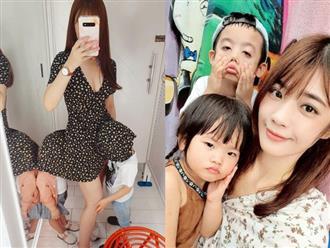 Mẹ dẫn con đi mua sắm rồi khoe ảnh 2 đứa trẻ chui đầu vào váy gây tranh cãi: Dễ thương hay phản cảm?