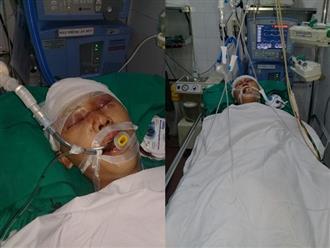 Mẹ đau đớn chứng kiến cảnh con trai nằm bất tỉnh trên vũng máu vì bị đánh ngay trước cổng nhà