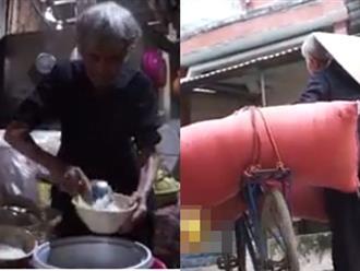 Xót xa những bữa cơm trắng với muối của cụ bà 82 tuổi tần tảo nuôi ba con tâm thần