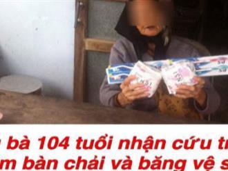 Tin đồn mẹ liệt sĩ 104 tuổi ở Quảng Nam được cứu trợ BVS và bàn chải gây xôn xao