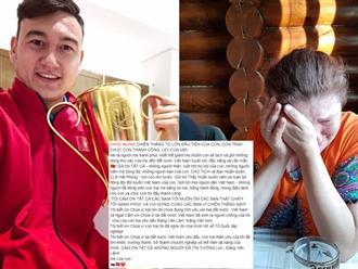 Mẹ thủ thành Văn Lâm viết tâm thư xúc động gửi người hâm mộ Việt Nam: 'Tôi muốn ôm các bạn thật chặt'
