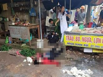 Một phụ nữ bị bắn nhiều phát đạn ngay giữa chợ