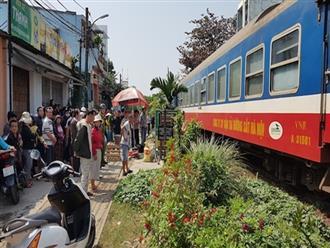 Một phụ nữ chết thảm khi băng qua đường sắt
