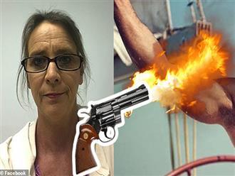 Mỹ: Người phụ nữ rút súng bắn thủng nách bạn trai vì ngáy to