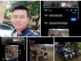 Hé lộ tin nhắn cuối cùng của nam sinh chạy Grab nghi bị sát hại tại bãi đất hoang ở Hà Nội