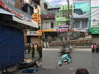 Gặp tai nạn lúc rạng sáng, nam thanh niên bò lê cầu cứu bên cạnh bạn gái nằm bất động