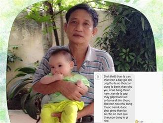 'Nếu như phải ghép thận, bố sẽ cho con 1 quả con đừng lo nhé', tin nhắn từ bố khiến cô gái khóc hết nước mắt