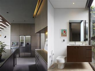 Ngắm ngôi nhà hình hộp tự điều chỉnh nhiệt độ trong nhà nhờ không gian mở thông minh của cặp vợ chồng trẻ