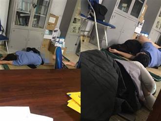 Nghệ An: Bác sĩ bị tố chỉ mặc quần lót nằm ôm nữ sinh viên thực tập trong ca trực