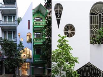Ngôi nhà ống mái lệch, mặt tiền ấn tượng đến mức ai đi qua cũng phải nhìn ở Hoàng Mai, Hà Nội
