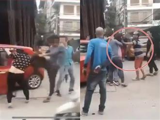 Vụ giật tóc, đánh đập vợ giữa đường mặc kệ con đứng khóc: Người chồng tiết lộ nguyên nhân