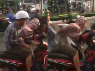 Clip người đàn ông đấm túi bụi vào mặt cô gái ngay giữa đường khiến chị em bức xúc