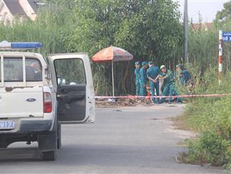 TP.HCM: Người đàn ông nghi bị sát hại rồi đốt xác tại bãi đất trống