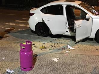 """Bắt người đàn ông nghi """"ngáo đá"""" cướp xe Grab, đập phá hàng loạt ô tô ở Đà Nẵng"""