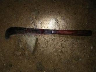 Người đàn ông nghi ngáo đá, dùng dao giết con, chém vợ rồi tự sát nhưng bất thành