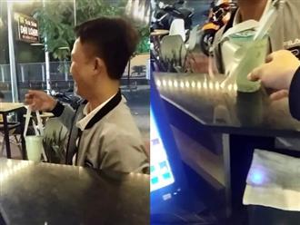 """Người đàn ông say rượu nhưng vẫn cố ghé vào quán mua trà sữa cho """"cô sư tử Hà Đông ở nhà"""", nghe đến lý do ai cũng bất ngờ"""